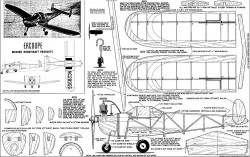 Ercoupe 30in model airplane plan