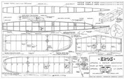 Eros model airplane plan