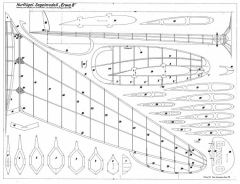 Erwa 8 model airplane plan