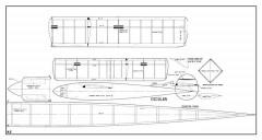 Escolar model airplane plan