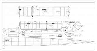 Escolar model airplane plan