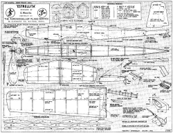 Estrellita model airplane plan
