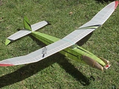 Eugene II model airplane plan