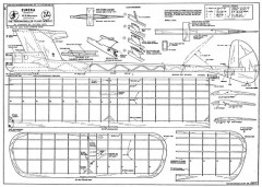 Eureka Open model airplane plan