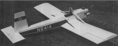 Evans VP-1 Volksplane model airplane plan
