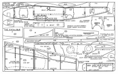 Excalibur model airplane plan