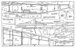 Excalibur model airplane plan