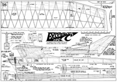 Excelsior 720 model airplane plan
