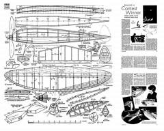 Experimenter No 3 model airplane plan