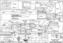 Extra 47in Uravitch model airplane plan