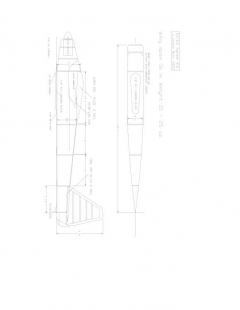 Ez-ed400 Model 1 model airplane plan