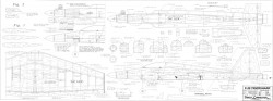 F-20 Tigershark model airplane plan