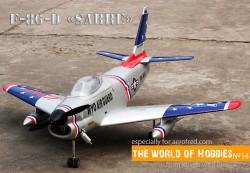 "F-86-D ""Sabre"" model airplane plan"