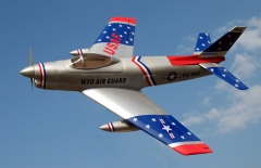 F-86D Sabre Dog Prop Powered Model model airplane plan