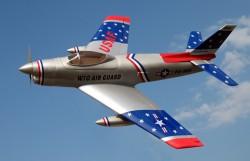 F-86D Sabre Dog Prop Powered Model model airplane plan