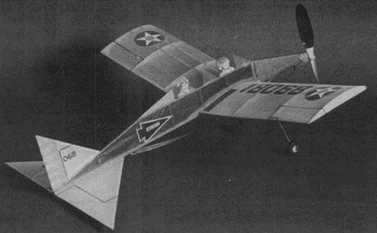 F.A.C. Trainer model airplane plan