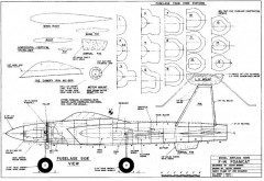F14 1 model airplane plan
