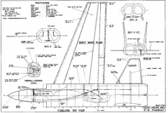 F14 2 model airplane plan
