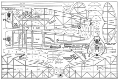 F2A-1 Buffalo model airplane plan