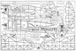 F2A-1 Buffalo model airplane plan