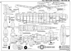 F4U-1D Corsair-RCM-06-77 690 model airplane plan