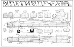 F5 prop model airplane plan