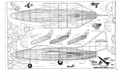 F9F-8 Cougar 1 model airplane plan