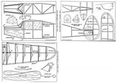 Flying Aces Kaydet model airplane plan