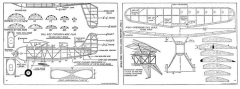 FA Pronto model airplane plan