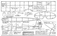 Fairchild 22-FAC model airplane plan