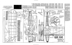 Fairchild 22 Avrum Zier model airplane plan