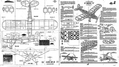 Fairchild 22 whitman 16in model airplane plan