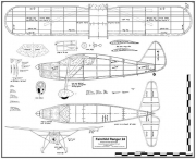 Fairchild 24 bmp2 model airplane plan