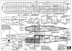 Fairchild F-24 C8 model airplane plan