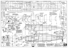 Fairchild F24 model airplane plan