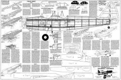 Fairchild PT-19 48in model airplane plan