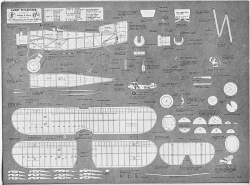 Fairey Flycatcher plan model airplane plan