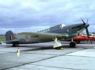 Fairey Fulmar Mark II model airplane plan