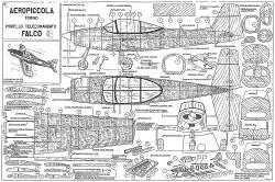 Falco CL model airplane plan
