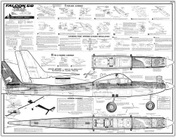 Falcon 56 model airplane plan