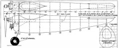 Falcon model airplane plan