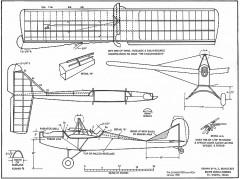 Falconmeister RCM-9022 model airplane plan