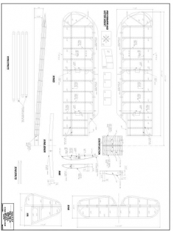 Fane AOP model airplane plan
