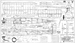 Farman Moustique model airplane plan