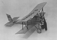 Farman Sport model airplane plan