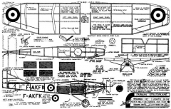 Farman Stratoplane model airplane plan