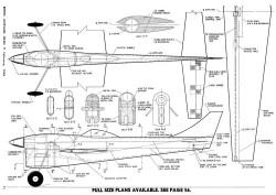 Fast Miler model airplane plan