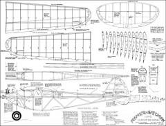 Feather Merchant 1940 model airplane plan
