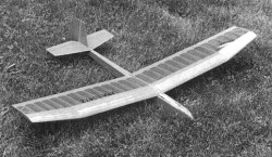 Feather model airplane plan