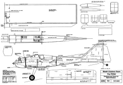 Fenix model airplane plan